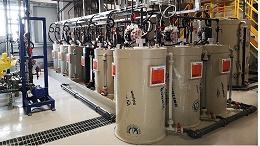 工业废水零排放设备各部分处理效果