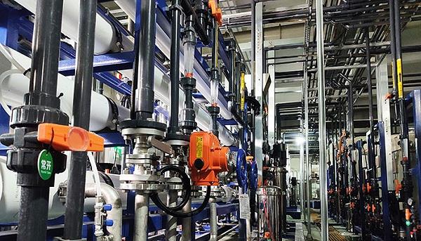 无锡华晶利达电子废水处理工程